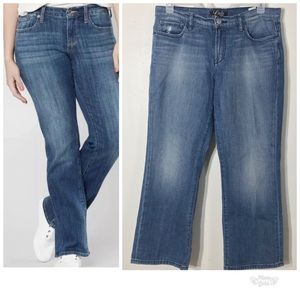 Lucky Brand Jeans 14 32 Boone Easy Riders Distress